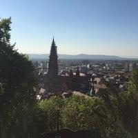 Photo taken at Kanonenplatz Freiburg by Paul K. on 4/23/2015