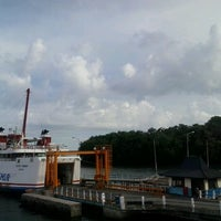 Photo taken at Pelabuhan Padang Bai by Linda S. on 2/15/2013