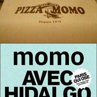 Photo taken at Pizza Momo by gef on 2/28/2014