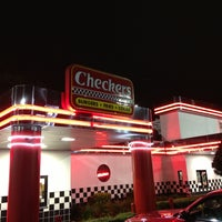 Photo taken at Checkers Drive-In Restaurant by Jarka W. on 4/16/2014