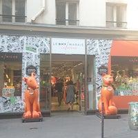 Photo taken at BHV Marais – La Niche by GARY on 6/21/2017