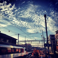 Photo taken at Bahnhof Olten by Alexander R. on 10/15/2012