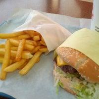 Photo taken at Pharos Burgers by Julien E. on 6/13/2013