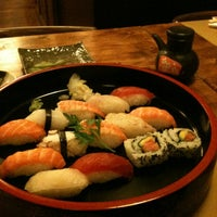 Photo taken at Tsuru Sushi all'Osteria by Jae Hyung Y. on 11/29/2012