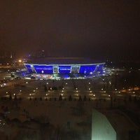 Photo taken at Donbass Arena / Донбасс Арена by Alexander D. on 1/31/2013
