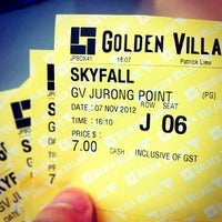 Photo taken at Golden Village by josh.dy on 11/7/2012