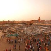 Photo taken at Marrakech by Vittorio R. on 1/6/2013