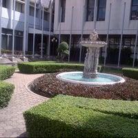 Photo taken at Assumption University by Tena P. on 10/5/2012
