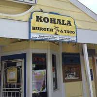 Photo taken at Kohala Burger & Taco by Chuck R. on 6/10/2016