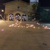 Photo taken at Parroquia Santa Rosa de Lo Barnechea by Andrea A. on 11/7/2014