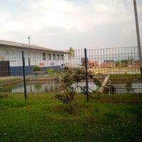 Photo taken at Balai Besar Pengembangan Budidaya Air Tawar (BBPBAT) by anggun j. on 8/9/2013