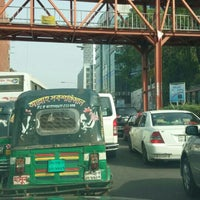 Photo taken at Dhanmondi 27 by Atif S. on 3/22/2016