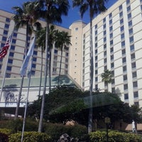 Photo taken at Rosen Plaza Hotel by Crystal B. on 4/1/2013