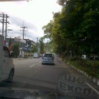 Photo taken at Jalan RW Monginsidi by Matthew &. on 5/4/2013