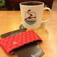Photo taken at Caribou Coffee by Mooney M. on 12/27/2012