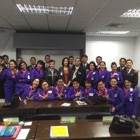 Photo taken at Thai Airways Crew Center Laksi by Karita V. on 2/11/2016