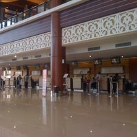 Photo taken at Sultan Syarif Kasim II International Airport (PKU) by Tia A. on 12/5/2012