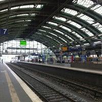 Photo taken at Berlin Ostbahnhof by Marc G. on 5/18/2013