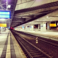 Photo taken at Bahnhof Berlin Südkreuz by Marc G. on 10/28/2013