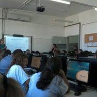 Photo taken at Faculdade Cenecista de Osório (FACOS) by Fernanda M. on 1/30/2013