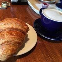 Photo taken at La Madeleine Country French Café by Rakan A. on 8/9/2016