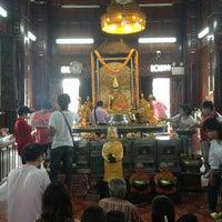 Photo taken at Wat Krok Krak by ยุทธนา จ. on 2/10/2013