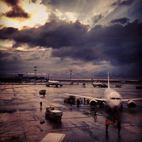 Photo taken at Terminal D by Elena S. on 9/7/2013