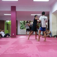 Photo taken at CENTERBASE Muaythai Camp by Rendi B. on 12/8/2012