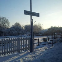 Photo taken at Wymondham Railway Station (WMD) by Scott D. on 1/17/2013