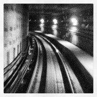 Photo taken at RapidKL KLCC (KJ10) LRT Station by Hayati C. on 7/1/2013