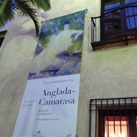 Photo taken at Museo Carmen Thyssen Málaga by Abelon M. on 12/8/2012