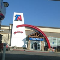 Photo taken at Travel Centers of America by Paula A. on 1/3/2013