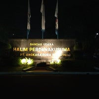 Photo taken at Halim Perdana Kusuma International Airport (HLP) by Eko H. on 11/16/2012