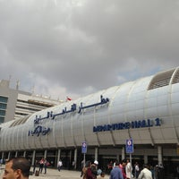 Photo taken at Cairo International Airport (CAI) by Ahmed on 4/18/2013