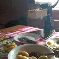 Photo taken at Schatzalp Panorama Restaurant by Ricarda Christina H. on 3/1/2015