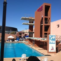 Photo taken at Hillenbrand Aquatic Center by Justine A. on 2/16/2013