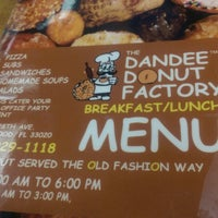 Photo taken at The Dandee Donut Factory by Daniel H. on 8/23/2014