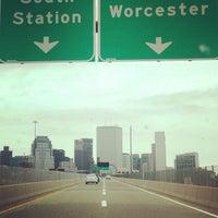 Photo taken at 4th Street Bridge by Rob V. B. on 7/29/2013