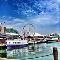 Photo taken at Navy Pier by Donal R. on 5/17/2013