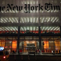 Photo taken at New York Times Building by Plankton on 10/9/2013