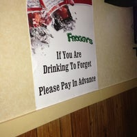 Photo taken at Froggy's by Jim C. on 2/14/2013