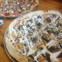 Photo taken at Bagby Pizza Co. by Sian W. on 2/23/2013