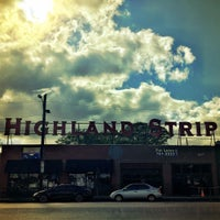 Photo taken at The Highland Strip by Logan on 4/18/2016