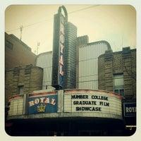 Photo taken at The Royal Cinema by Ben B. on 4/19/2013