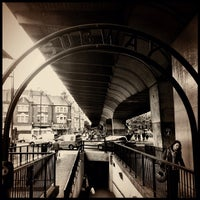 Photo taken at Hammersmith London Underground Station (District and Piccadilly lines) by Chris K. on 9/27/2012
