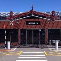 Photo taken at Rotorua International Airport (ROT) by Sarah B. on 1/8/2016