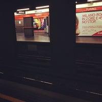 Photo taken at Metro Turro (M1) by Federico T. on 9/22/2012