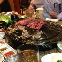 Photo taken at Shin Chon Garden Restaurant by H on 3/9/2013