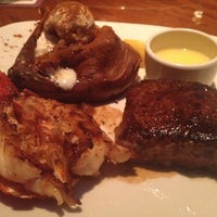 Photo taken at Outback Steakhouse by Kendra K. on 11/1/2012