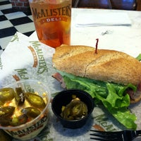 Photo taken at McAlister's Deli by Thomas K. on 12/30/2012